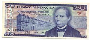 Mexico-Messico-50-pesos-1981-FDS-UNC-pick-73-lotto-3236