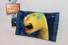 NEW IN PACAKGE  WALT DISNEY THE DINOSAUR  COIN TRI FOLD WALLET