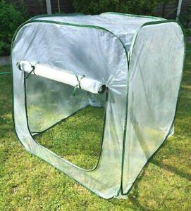 Pop Up Greenhouse PVC Outdoor Garden Tent Plant Grow House 100x100x100