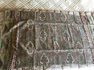 Nwot Pottery Barn Wylie Paisley Print King Sham New 36 Quot X