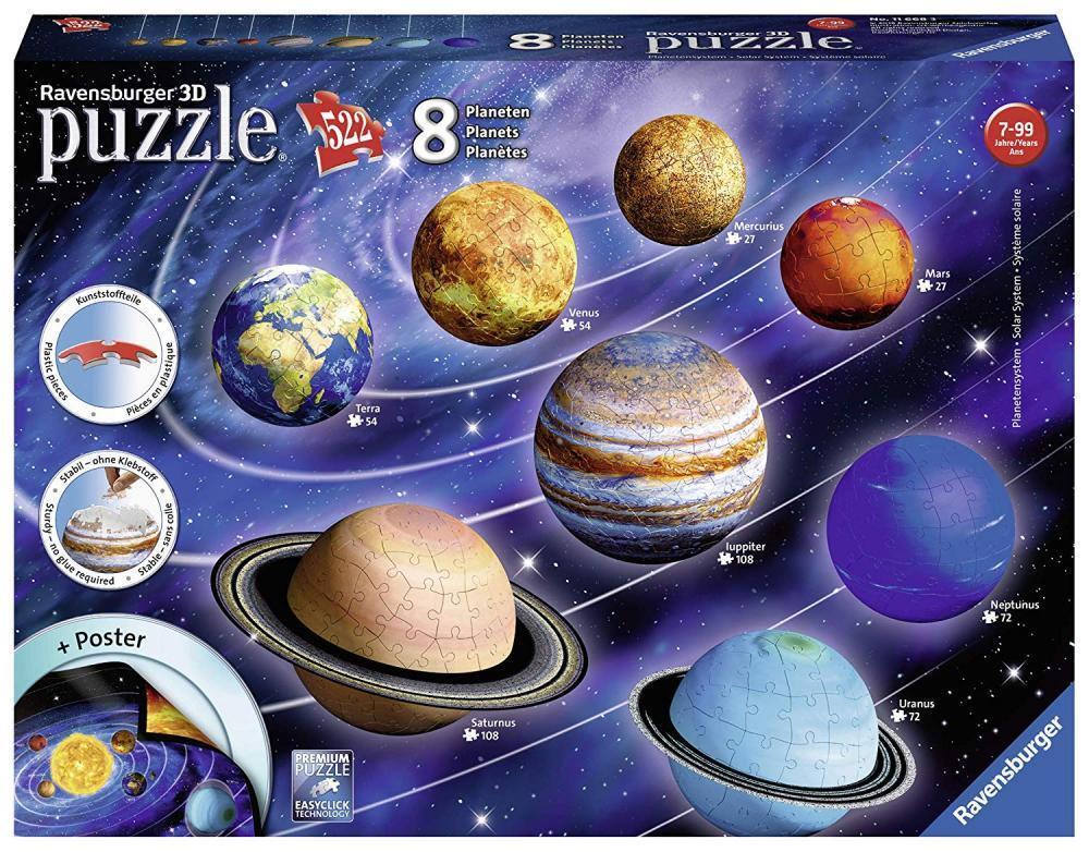 3D-Puzzle Planeten Ravensburger 11668