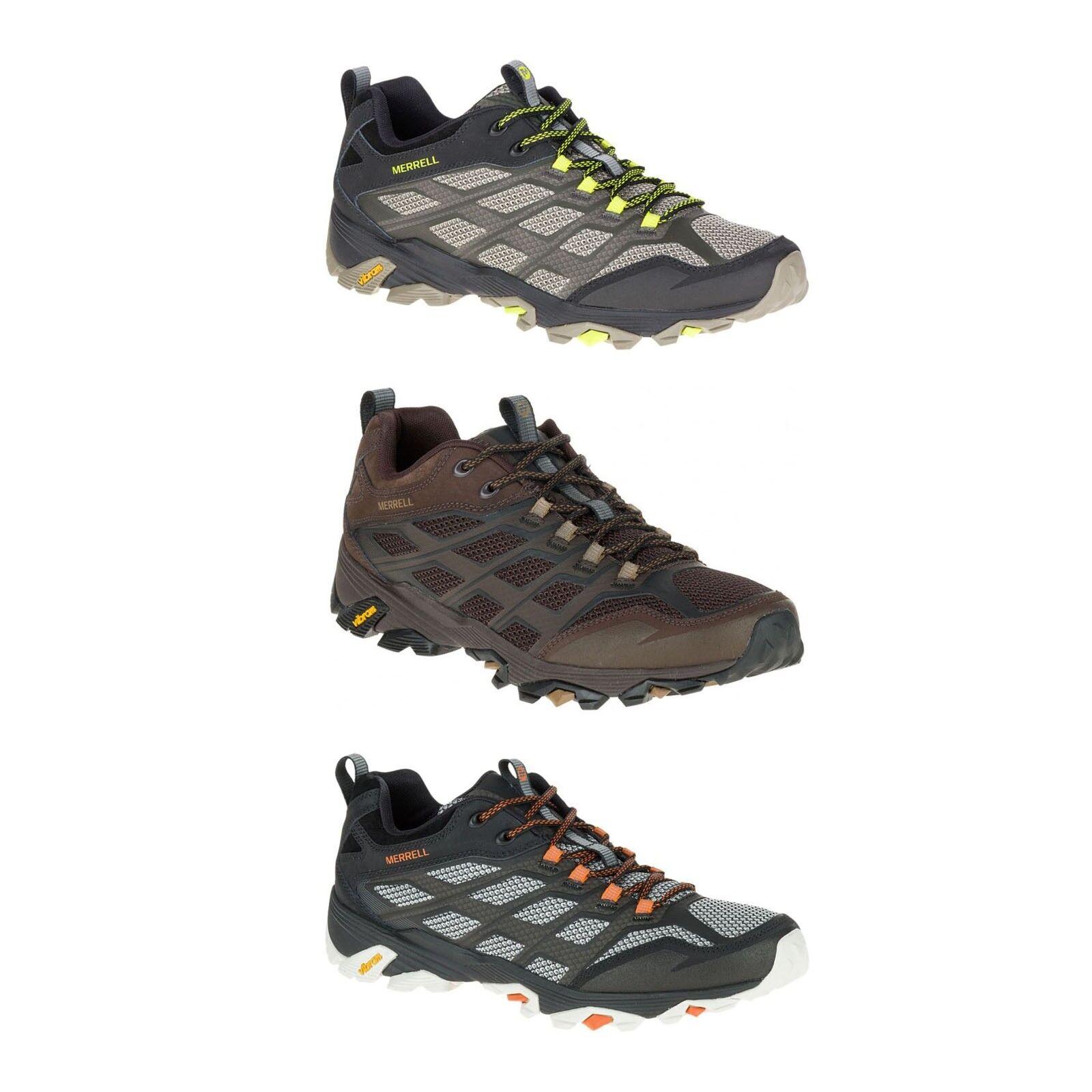 New Authentic Merrell Vibram Moab FST Men's Medium Vibram Merrell Hiking Trail Shoes All Sizes 667fd6