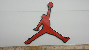 super popular d6655 191c9 Image is loading Air-Jordan-3D-Basketball-Logo-Emblem-Ornament-or-