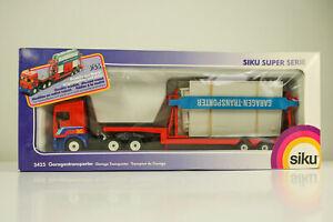SIKU-3425-Garage-Transporter-Truck-1-55-Metal-New-OvP-DAF-Super-Series