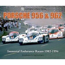 Porsche 956 & 962 Immortal Endurance Racers 1982-1994 book paper