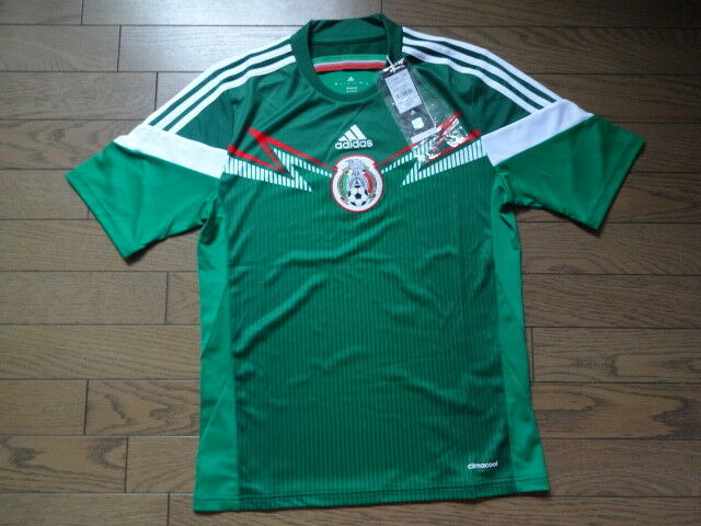 8c245df6194 Mexico 100 Original Soccer Football Jersey Shirt 2014 World Cup Home M for  sale online | eBay