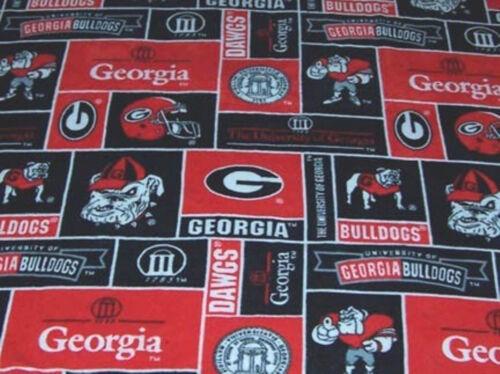 NCAA Fleece Fabric Baby Blankets Team Choices