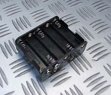BATTERY HOLDER FOR 10 x AA R6, HR6, R6P  1.5V BATTERIES PP3 OUTPUT CONNECTOR