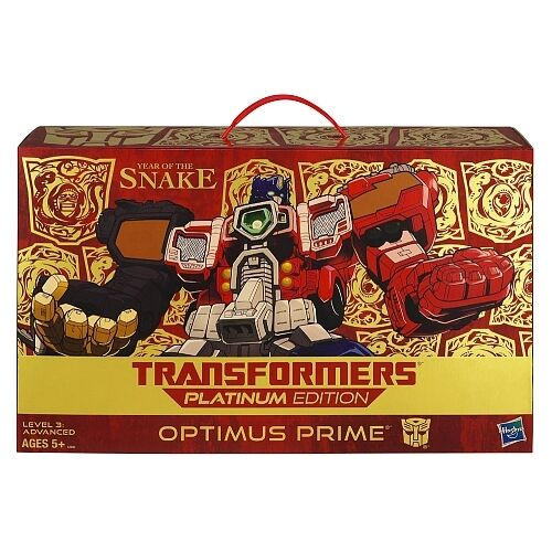 TRANSFORMERS - Platinum Edition Year of the Snake Optimus Prime Figure