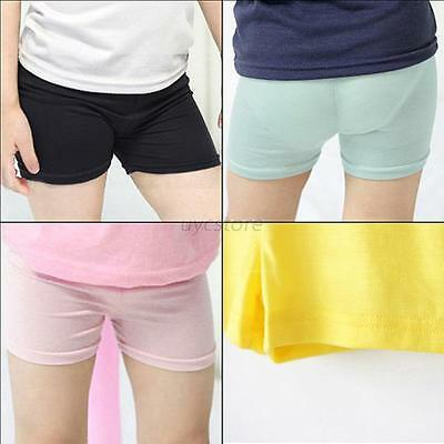 Sweet 2-7Y Kids Girl Baby Short Pants Leggings Summer Stretch Safety Shorts U47