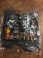 Kiss Love Gun Coffeehouse Shirt XL Sealed In Bag Simmons Stanley Frehley Criss