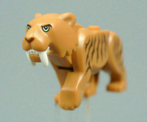Lego City Arctic Sabertooth Tiger Animal Minifigure 60193 New Sealed.