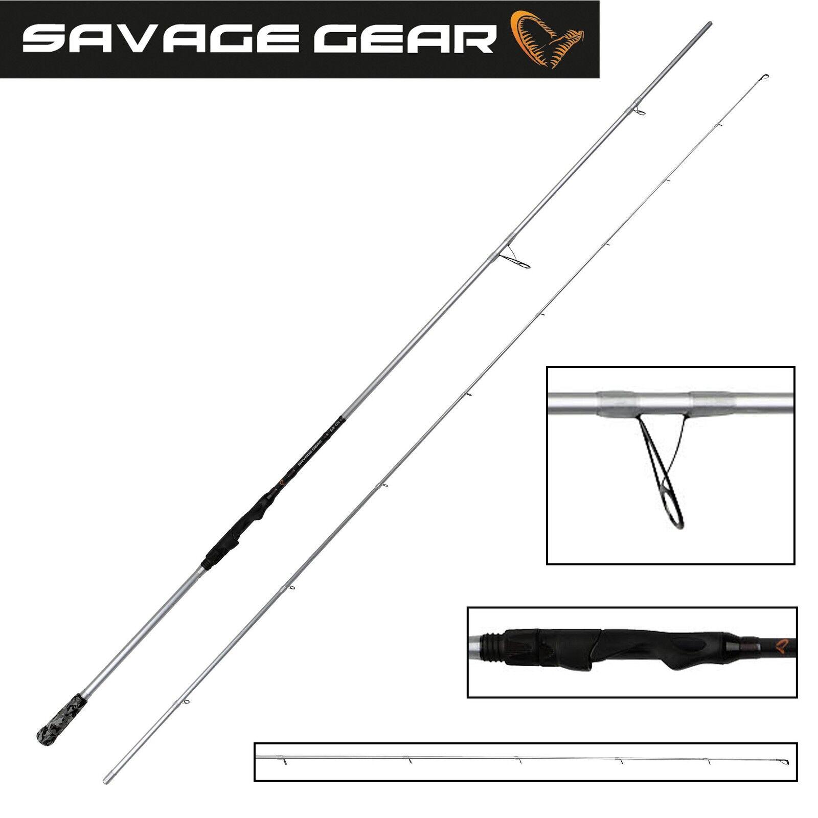 Savage Gear Salt CCS Spinnrute, 8'6