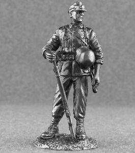 World-War-2-German-Mountain-Troops-1942-1-32-Figures-Metal-Toy-Soldiers-54mm-Tin