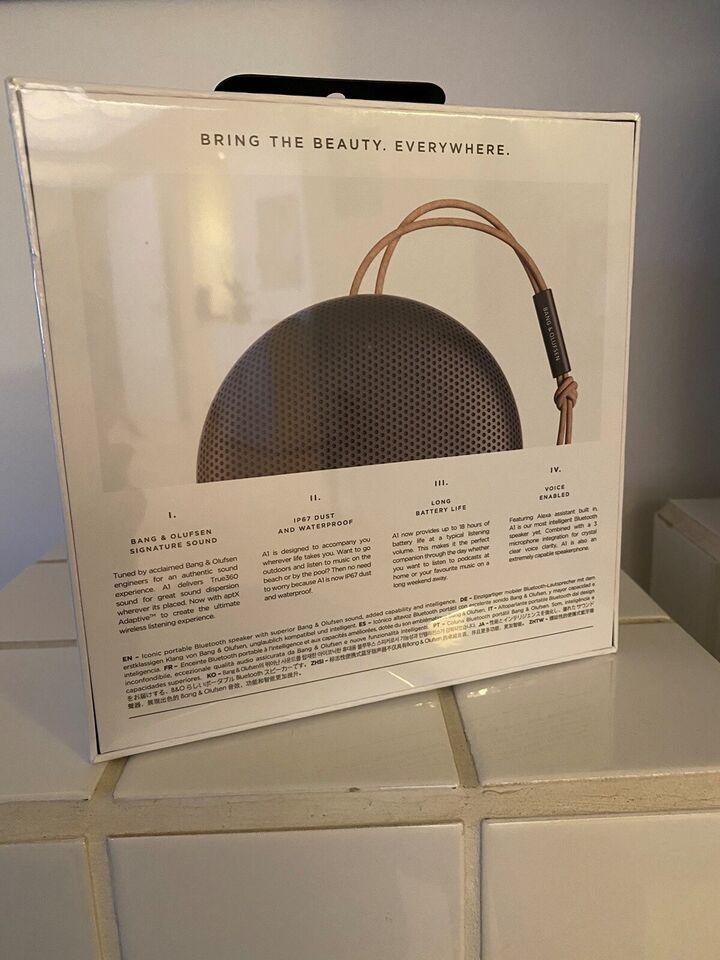 Bluetooth højtaler, Bang & Olufsen, Perfekt