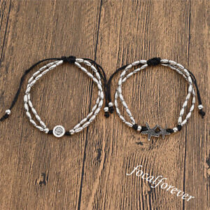 Womens-Starfish-Ankle-Bracelet-Bangle-Barefoot-Foot-Chain-Beads-Jewellery-Gift
