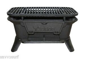 Image Is Loading Cast Iron Bbq Fire Pit Barbecue