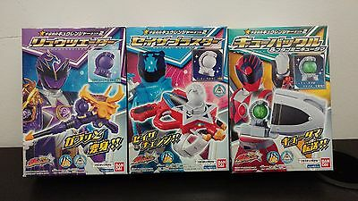 Toys & Hobbies Action Figures Bandai Super Sentail Uchu Sentai Kyuranger Narikiri Kit Part 2 Candy Toys Neither Too Hard Nor Too Soft
