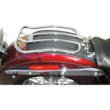Motherwell Chrome 7 Solo Luggage Rack for 2005-2014 Harley Softail MWL-175-09