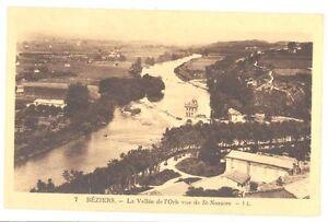 CPA-34-7-BEZIERS-la-Vallee-de-l-039-Orb-vue-de-SAint-Nazaire-LL