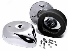 Luftfilter Kit Tear Drop Chrom für Harley Davidson Keihin Bendix Performance Top