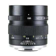 New Version Zhongyi MITAKON II Speedmaster 35mm f/0.95 Sony E Mount NEX5 A6000