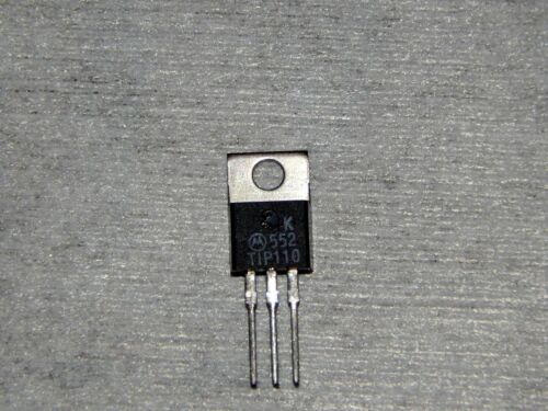 3 Motorola 552 TIP110 Power Transistor Darlington 2A 60-100V 50W