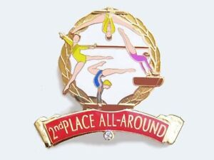 NICE MEMBERSHIP DESIGN YMCA Gymnastics Lapel Pin