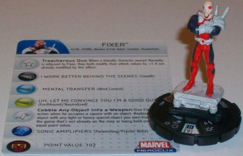 FIXER #045 #45 Captain America HeroClix Rare