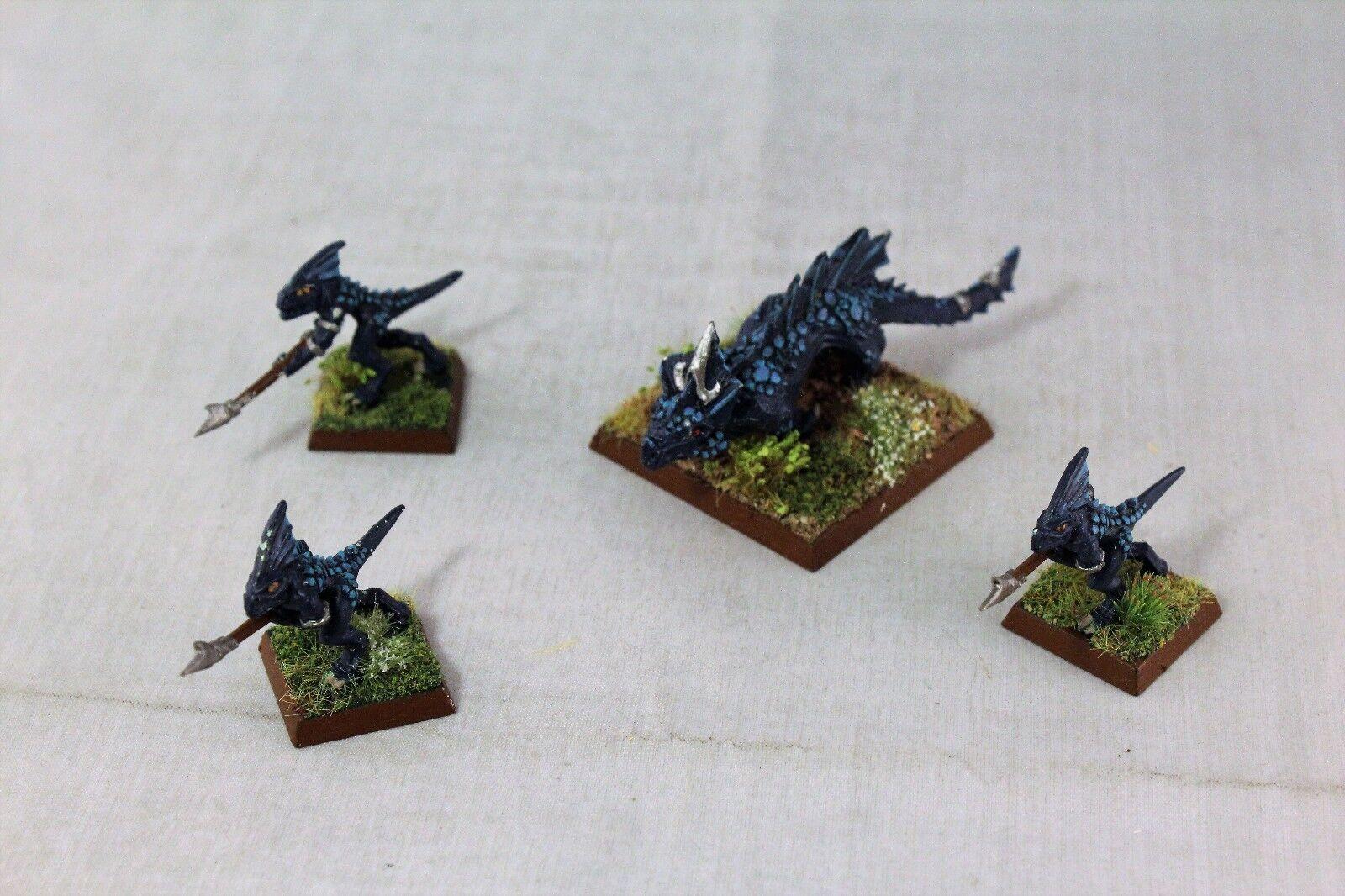 Warhammer Lagarto seraphon Salamandra Pack bien pintados
