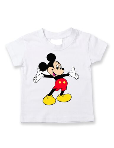 Mickey Mouse t- shirt infant Adult toddler
