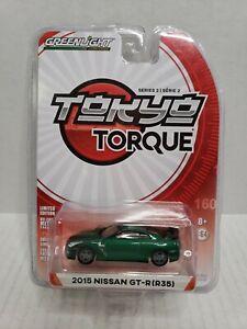 Rare-Greenlight-Tokyo-Torque-2015-Nissan-GT-R-R35-Green-Machine-Chase-6002