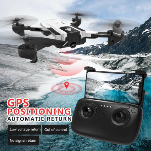 GPS Drone avec 1080P Caméra HD 2.4 G Wifi FPV maintien d/'altitude sans balai Quadricopter