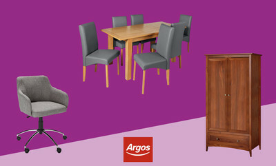 Save up to 40% on selected Furniture