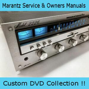 Marantz Service Handbucher Eigentumer Amp Verstarker Receiver Hifi Reparatur Pdf Dvd Ebay