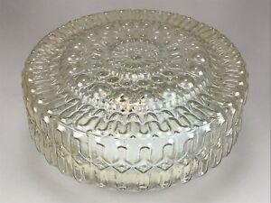 Plafoniere De Metal : Er jahre lampe leuchte wandlampe plafoniere bubbleglas