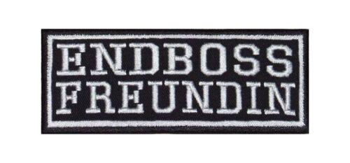 Endboss amie Biker Heavy Rocker patch écusson Bügelbild Blouson Badge Stick