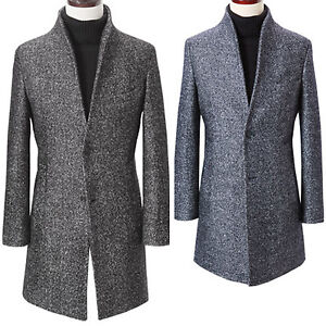 Jacket New Blazer China Coat Ti Fashion Jumper Collar Bokashi W008 Outwear Mens pwWq87p4U
