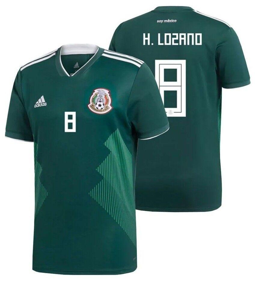 Adidas Hirving Lozano México Home Jersey Copa Del Mundo 2018
