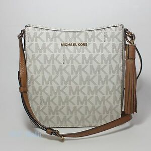 top-rated professional various colors authentic Details about New Michael Kors Bedford Tassel Crossbody Black Navy Brown  35S7GBFC9L NWT