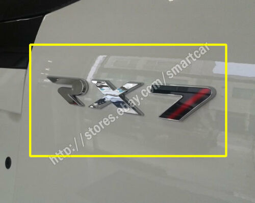 2012 2013 2014 2015 SsangYong Rexton W OEM Tailgate RX7 Emblem Badge