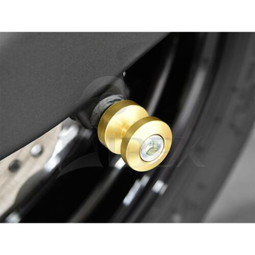 Yamaha YZF-R1 YZF R1 BJ 1998-2017 Bobbins Racingadapter M6 gold