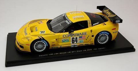 Corvette C 6 R LM 2005 1 24 Model s2401 Spark Model