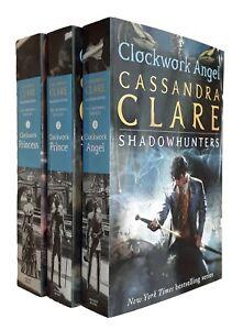 Cassandra-Clare-3-Books-Shadow-Hunters-Clockwork-Angel-Prince-Princess-New