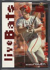 1999 Skybox Premium Baseball - Live Bats - #8 - Scott Rolen - Phillies