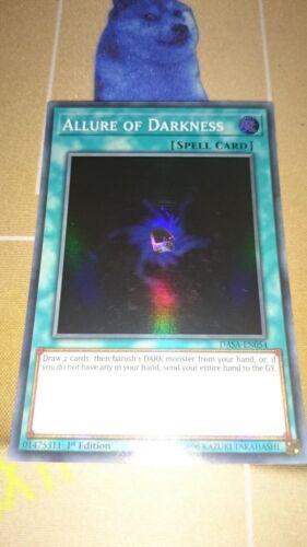 Allure of Darkness DASA-EN054 Super Rare 1st NM Yugioh