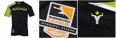 best sneakers ce27e db93e Details about Overwatch League AUTHENTIC HOME JERSEY HOUSTON OUTLAWS BRAND  NEW SIZE 4XL