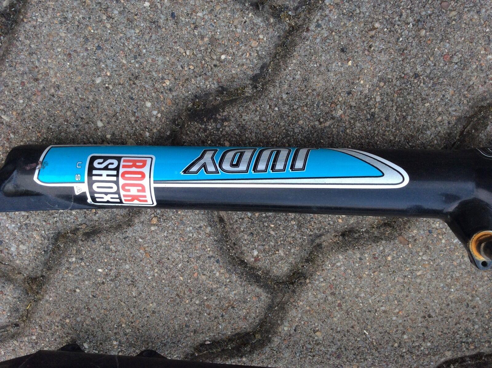 Retro culto FORCELLA RockShox Judy XC 26 FORCELLA gambale 1 18 MAX. 500km