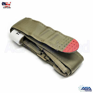 Tourniquet Rapid One Hand Application Emergency or Outdoor First Aid Kit GreenC