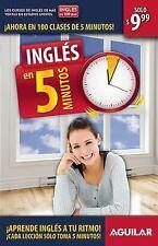 Inglés en 5 minutos (Ingles en 100 Dias) (Spanish Edition)-ExLibrary